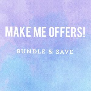Other - Willing to make deals 💙 comment, like, & bundle!